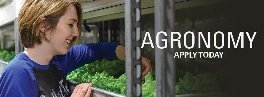 Agronomy: Apply Today